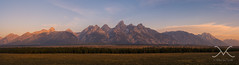 Grand Teton Range At Sunrise panorama (Mike Ver Sprill - Milky Way Mike) Tags: pictures ranch park new travel trees sunset sky panorama mountain mountains west art mike nature beautiful field skyline clouds sunrise fence way landscape fire photography hotel michael high amazing photographer dynamic hole outdoor gorgeous fine barns large style grand row panoramic jackson best historic lobby explore peter national printing smokey jersey format mormon farmer greatest wyoming prairie teton hazy tetons ever range milky hdr mv ver lik sprill versprill