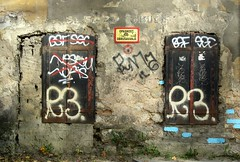 No more (vittorio vida) Tags: door old windows urban colors ancient iron sarajevo bosnia walls balcans