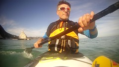 201602 21013 (carlogiov@gnoli) Tags: sea beach kayak kayaking conero spiaggia adriatico kayaker qajaq rivieradelconero cardeto 2sorelle
