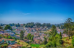Beautful Day! (torqueabhi) Tags: city morning trees houses mountains colors beautiful 35mm landscape landscapes town nikon outdoor hills destination catchy hdr ooty hillstation lightroom bracketing naturelover travelphotography travelphoto d5300 iamnikon earthpix 500pxfresh aurorahdr