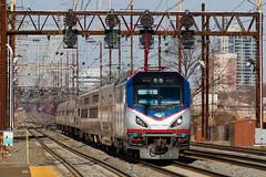 The Crescent (jim_zim) Tags: railroad train siemens crescent amtrak locomotive signal longdistance northeastcorridor acs64