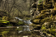 Raven Run Waterfall Lexington Ky (Klaus Ficker --Landscape and Nature Photographer--) Tags: usa water canon waterfall lexington kentucky ravenrun eos5dmarkii kentuckyphotography klausficker ravenrunwaterfall