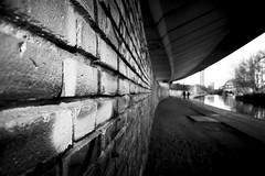 All in all... @londonlights (London Lights) Tags: urban blackandwhite london monochrome wall lights nikon noiretblanc bricks londres londra londonlights allinall monochromemonday