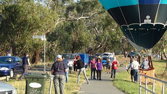 Heave Ho (spelio) Tags: water festival mar hotair balloon australia canberra act 2016 lakeburleygriffin