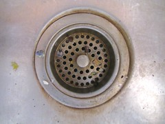 sink kitchen drain 02 (seanduckmusic) Tags: water plumbing fountains sinks drains witsendep