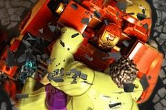 Hulkbuster vs angry Hulk (f8.8) Tags: toys lego ironman angry hulk hulkbuster