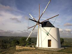Wrapped up Sails (parkerbernd) Tags: park old light portugal windmill up sunrise landscape lumix fantastic sails wrapped panasonic national mértola gx1