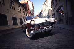 Volga & Blumenstrasse (Rawcar.com Photography) Tags: auto classic cars car sport modern race vintage photography automobile photographer calendar wheels culture gaz automotive racing retro chrome soviet classics vehicle production oldtimer motorsports volga sovietunion ussr calendars artprint youngtimer wolga fineprint autosports gaz21 worldcars rawcar rawcarcom
