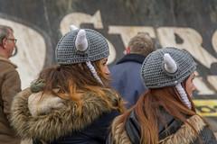 Viking wool (stevefge) Tags: girls people netherlands mud nederland event viking berendonck nederlandvandaag reflectyourworld strongviking