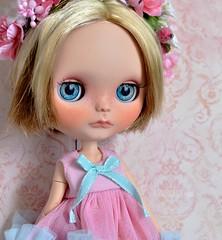 Odeletta - OOAK Blythe doll