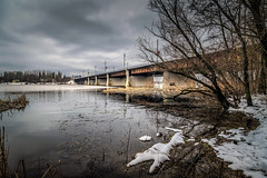 Urban Landscape #3 (Unicorn.mod) Tags: bridge water clouds canon river march spring cityscape landsape 2016 canonef24105mmf4lisusm canoneos6d