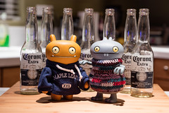 Uglyworld #2705 - Trys Not To Wobblers (Project ASOB - Image 80 of 366) (www.bazpics.com) Tags: usa beer drunk oregon america project fun toy march bottle funny action many or empty vinyl corona figure try uglydoll too 80 hillsboro uglydolls babo concentrate wage wobble critterbox 366 uglyworld prettyugly asob uglyverse adventuresinuglyworld uglyadventures