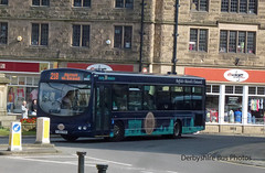 Bakewell 21/4/2016 (The Great Innuendo) Tags: travel bus high buxton derbyshire peak tm slacks derby chesterfield bakewell matlock chatsworth enviro baslow optare omnicity hulleys