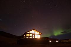 Aurora Borealis (Ginge52) Tags: sky tourism night canon stars lights iceland farm tourist aurora northern startrails borealis 500d eos500d