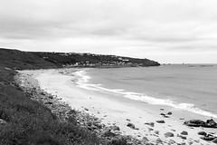 beach (-j0n4s-) Tags: sea bw white black art beach nature canon coast blackwhite seaside flickr cornwall waves 1855mm coastpath 2015 beautifulearth j0n4s
