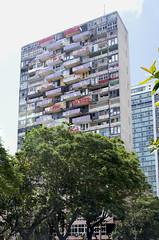 Avenida 23 (kbee693) Tags: colour architecture buildings cuba streetscene faded balconies habana urbanlandscape thisimageiscopyrighted canoneos6d