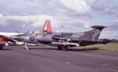 XV342. Royal Air Force Blackburn Buccaneer S.2B (isdc1316) Tags: june aviation military airshow scanned 1989 raf prestwick pik royalairforce egpk blackburnbuccaneers2b xv342 ayronautica