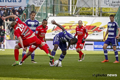 10580924-035 (rscanderlecht) Tags: sports sport foot football belgium soccer playoffs oostende roeselare ostend voetbal anderlecht playoff rsca mauves proleague rscanderlecht kvo schiervelde jupilerproleague