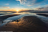 Holme Sunset 2 (granth2903) Tags: sunset sea sky seascape beach water sand dusk north norfolk shoreline shore waterscape canon1740l nothdr wwwgranthardenphotographycom sonya7ii