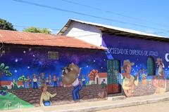 Wall art in Ataco (SamSpade...) Tags: street art coffee wall town elsalvador 587 0851 ataco 121202
