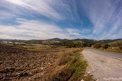 verso Piancastagnaio (carbonelli93) Tags: strada di siena toscana terra rosso viaggio piancastagnaio