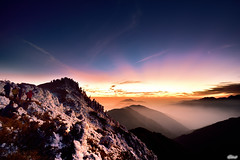 (Clonedbird  & Iris ) Tags: winter mountain snow landscape nikon taiwan         d810  14 hohuanshan