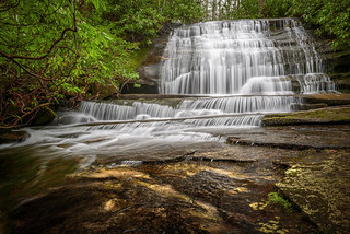 Waterfall on Grogan Creek (Pisgah National Forest)