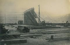 Construction of the New Zealand & South Seas Exhibition, Logan Park 1924-1925 (Dunedin City Council Archives) Tags: construction exhibition historic dunedin loganpark