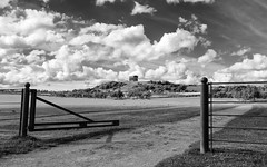 Penshaw Monument (ADG IMAGES) Tags: sky blackandwhite monument monochrome clouds landscape greek mono countryside durham victorian panoramic replica nationaltrust folly sunderland penshaw herrington wearside sunderlandecho