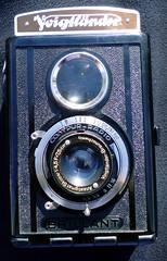 Voigtlnder Brillant V6 ~ 1938 (Herr Filmkorn) Tags: camera 6x6 tlr box gas voigtlnder kamera ibelieveinfilm