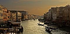 Venice Twilight (Martin Saunders) Tags: venice italy rialtobridge canal twilight explore gondola grandcanal rialto