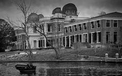 Observatory- Leiden (Rens Timmermans) Tags: blackwhite architectuur niksilverefexpro canon5dmk3 canon70200mmf28lisii
