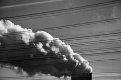 High voltage (Martin PEREZ 68) Tags: noiretblanc nuclear nb line tension volt highvoltage tarnetgaronne nuclearpowerplant nuclaire midipyrnes centralenuclaire hautetension golfech
