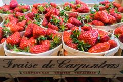 20160415 Provence, France 02276 (R H Kamen) Tags: food france retail fruit strawberries abundance marketstall vaucluse foodmarket carpentras plentiful provencealpesctedazur rhkamen