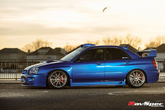 "WEDS Maverick 710S - Subaru STI 04 Blue • <a style=""font-size:0.8em;"" href=""http://www.flickr.com/photos/64399356@N08/26382055632/"" target=""_blank"">View on Flickr</a>"