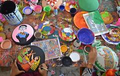 Preparation for the celebration of Bengali New Year on 14 April (ashik mahmud 1847) Tags: color design celebration nikkor bangladesh function d5100