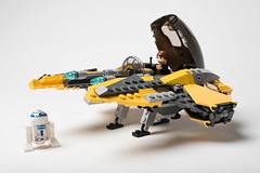 Lego_starwars_5617 (kyl080) Tags: star starwars mod lego space r2d2 anakin wars skywalker moc starfighter 7256 7669