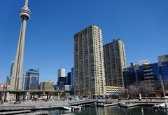 Waterfront - Queens Quay West, Toronto (Howard258) Tags: downtown waterfront harbourfront downtowntoronto torontoontario queensquay 2016