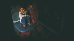 Co-Passenger (Vilvesh) Tags: morning people india girl train canon photography morninglight kid kolkata cwc copassenger chennaiweekendclickers cwctravelwalk