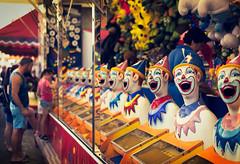Say AHH!! (Colin_Bates) Tags: show game amusement clowns hawkesbury
