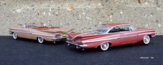 1959 Chevrolet Impala Convertible & Hardtop Sport Coupe (JCarnutz) Tags: chevrolet impala 1959 diecast 124scale danburymint wcpd