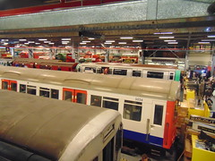 Visit to Acton Depot open day 23/4/2016 (anthony63b) Tags: bus london museum tube londonunderground piccadillyline 2016 actontown transort actondepotopenday 1973stock