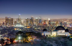 Griffith Observatory (Never House) Tags: california ca travel usa angel night america noche losangeles los state angeles sony united observatory griffith 70200 nocturno 2016 sel70200g raulwong