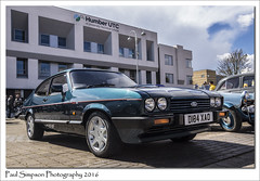 Ford Capri 280 (Paul Simpson Photography) Tags: cars ford 1980s iconic classiccars scunthorpe sportscar britishcar sportcar photosof imageof photoof imagesof classiccarshows fordcapri280 forduk sonya77 paulsimpsonphotography carsfromthe1980s april2016