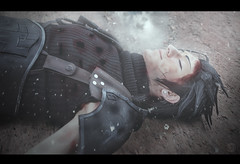 Zack - Final Fantasy VII Crisis Core (Glynford Photography |Glen|) Tags: anime art japan square death nikon f14 manga 7 sigma final fantasy 24mm enix zack crisis vii core d5100