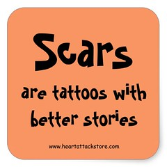 Scars Are Tattoos With Better Stories Sticker (Paradise Photos) Tags: shirt tshirt surgery depression lad cpr cvd heartdisease anxiety heartattack stent brokenheart teeshirts diabetes aed cardiac bhf britishheartfoundation widowmaker celebratelife triplebypass panicattack heartfoundation arrhythmia heartdiseaseawareness cardiacarrest myocardialinfarction atrialfibrillation ventricularfibrillation cardioversion bypasssurgery cabg defibrillation suddencardiacarrest zipperclub cardiovasculardisease mendedheart coronarybypasssurgery cardiacrehabilitation automatedexternaldefibrillation heartattacksurvivor