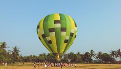 Lubao Hot air Balloon at Pradera Verde (19 of 29) (Rodel Flordeliz) Tags: travel sky hot air balloon billboard adventure oxygen riding hotairballoons pradera pampanga bataan lubao lubaohotair