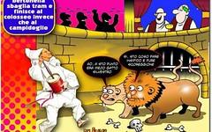 Roma: fuori uno dalla lista dei candidati 'brutti, sporchi e cattivi' (SatiraItalia) Tags: vignette satira umorismo