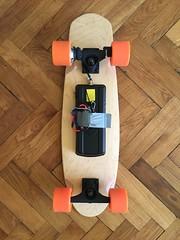 Measuring the power of the E-Wheelin electric skateboard (kasparsdambis) Tags: electronics longboard skateboard electricskateboard hubmotor bldc electriclongboard esk8 ewheelin protonboards