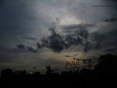 17:31 (Debatra) Tags: railroad india silhouette rail railwaystation railways bengal calcutta westbengal howrah indianrailways hwh howrahterminus hwhdivn howrahdivision